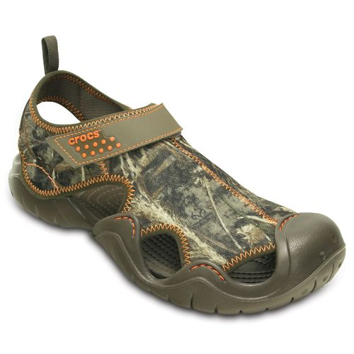 Crocs Men's Swiftwater Realtree Max-5 Sandals