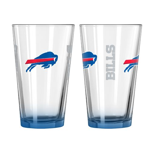 Boelter Brands Buffalo Bills Elite 16 oz. Pint Glasses 2-Pack
