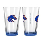 Boelter Brands Boise State University Elite 16 oz. Pint Glasses 2-Pack