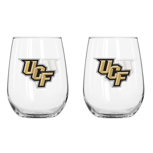 Boelter Brands University of Central Florida 16 oz. Curved Beverage Glasses 2-Pack