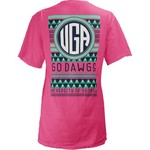 Three Squared Juniors' University of Georgia Cheyenne T-shirt