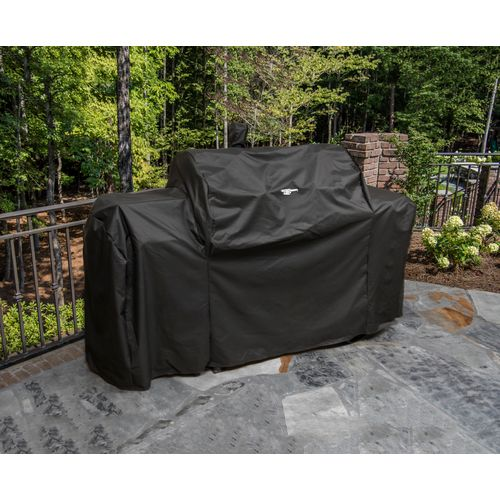 Oklahoma Joe's Longhorn Charcoal/Gas Grill and Smoker Cover - view number 2