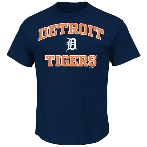 Majestic Men's Detroit Tigers Heart and Soul T-shirt - view number 1