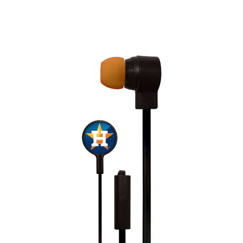 Mizco Houston Astros Big Logo Earbuds