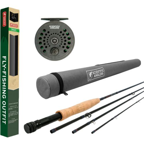Scientific Anglers Freshwater Trout Fly Rod and Reel Combo