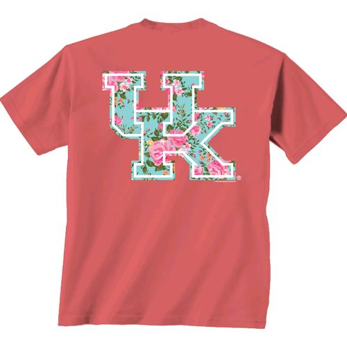New World Graphics Women's University of Kentucky Floral T-shirt