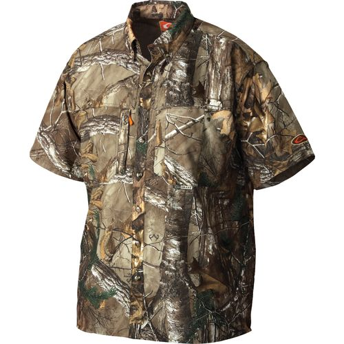 Drake Waterfowl Men's Nontypical Short Sleeve Dura-Lite Vented Shirt