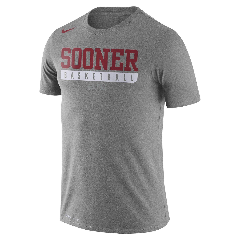 Nike Men's University of Oklahoma Basketball Practice T-shirt
