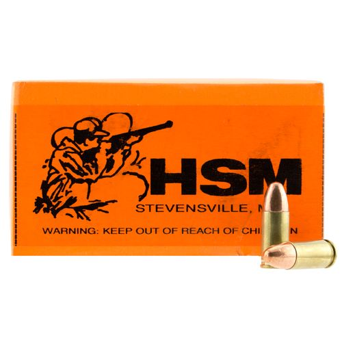 HSM 9mm FMJ Centerfire Rifle Ammunition