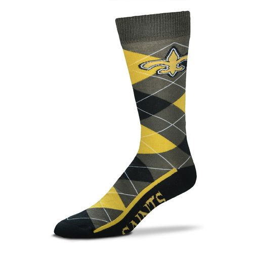FBF Originals Men's New Orleans Saints Argyle Zoom