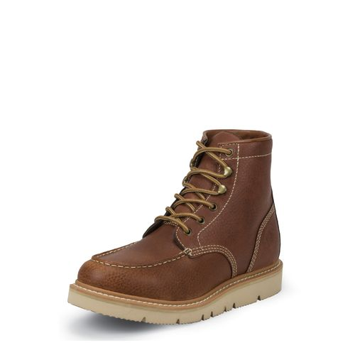 Justin Men's Original Action Work Boots - view number 3