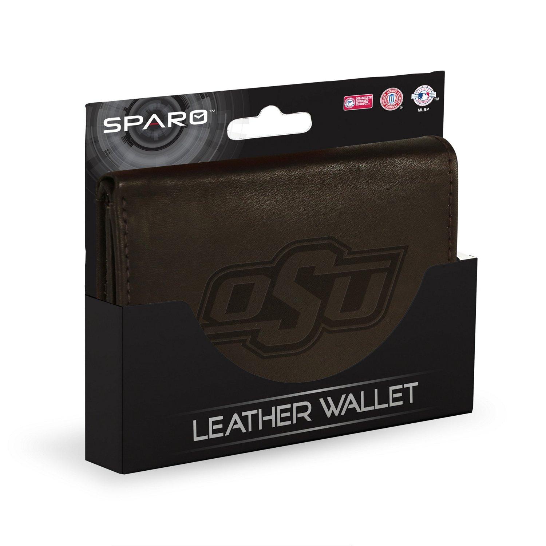 Rico Men's Oklahoma State University Trifold Wallet