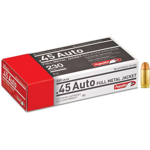 Aguila Ammunition .45 Auto 230-Grain FMJ Centerfire Ammunition - view number 1