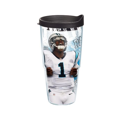 Tervis Carolina Panthers Cam Newton 24 oz. Tumbler with Lid
