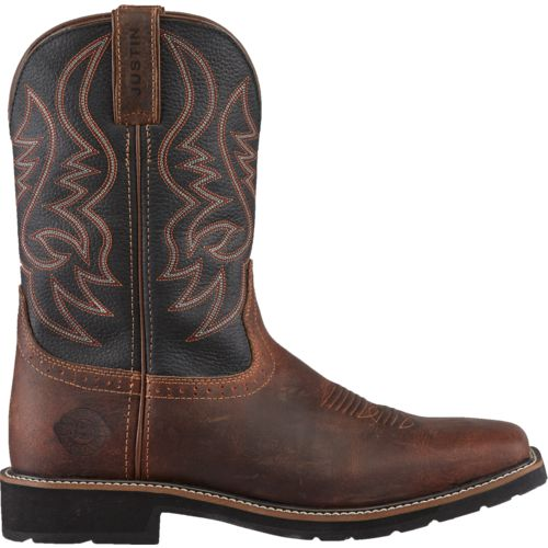Justin Men's Waxy Work Boots