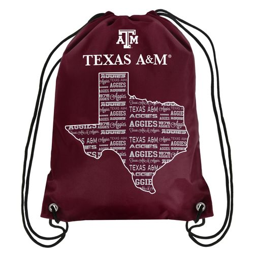 Forever Collectibles™ Texas A&M University Drawstring Backpack