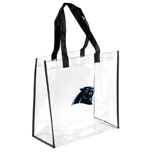 Team Beans Carolina Panthers Clear Reusable Bag