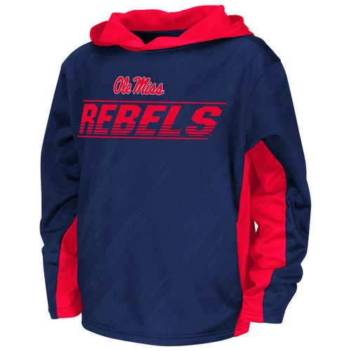 Colosseum Athletics™ Juniors' University of Mississippi Sleet Pullover Hoodie