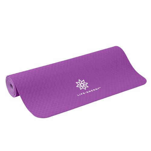 Life Energy Yoga Repeat 4 mm Premium TPE EkoSmart Yoga Mat