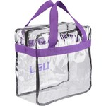 Forever Collectibles™ Louisiana State University Clear Messenger Bag - view number 2