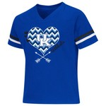 Colosseum Athletics Girls' University of Kentucky Football Fan T-shirt