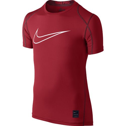 Display product reviews for Nike Boys' Hypercool HBR Fitted Short Sleeve Top
