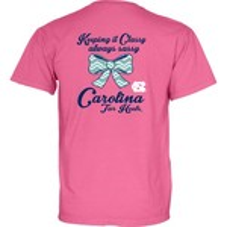 Blue 84 Women's University of North Carolina Keep It Classy Bazooka T-shirt