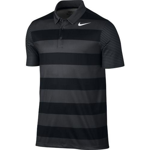 Nike™ Men's Breathe Bold Stripe Polo Shirt