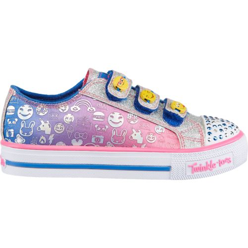 SKECHERS Girls' Twinkle Toes Shuffles Expressionista Shoes