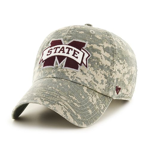 '47 Mississippi State University Officer Camo Clean-Up Cap