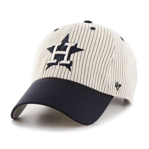 '47 Houston Astros Pinstripe Home Run 2-Tone Cleanup Cap