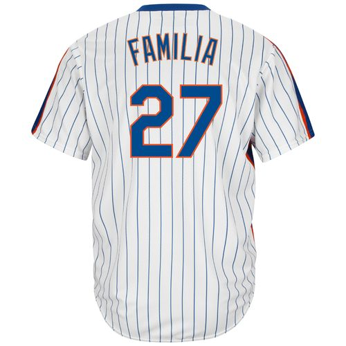 Majestic Men's New York Mets Jeurys Familia #27 Cool Base Cooperstown Jersey - view number 1