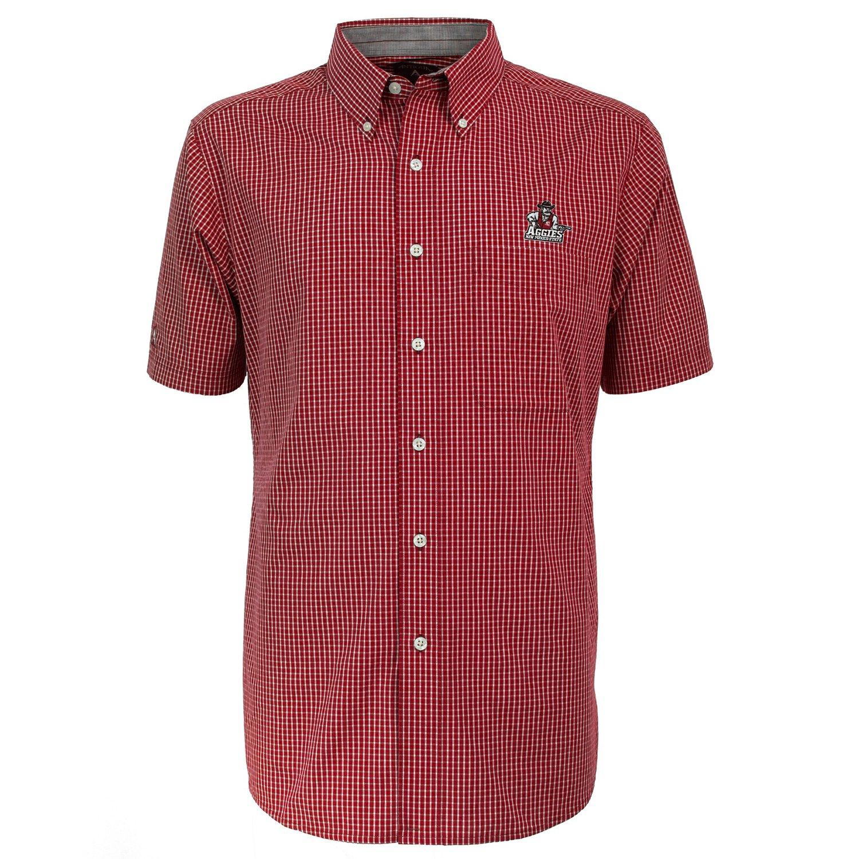 Antigua Men's New Mexico State University League Short Sleeve Shirt