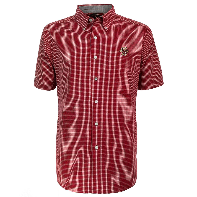 Antigua Men's Boston College League Short Sleeve Shirt