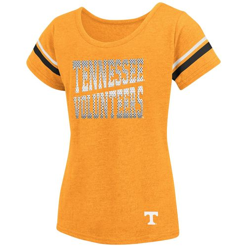 Colosseum Athletics™ Girls' University of Tennessee Fading Dot T-shirt