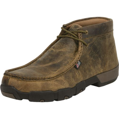 Justin Men's Casuals Driver Moc Steel-Toe Work Boots - view number 8