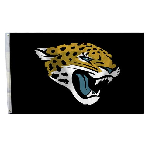 BSI Jacksonville Jaguars 3' x 5' Fan Flag - view number 1