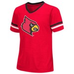 Colosseum Athletics™ Girls' University of Louisville Titanium T-shirt - view number 1