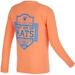 Image One Men's Sam Houston State University Finest Shield Comfort Color Long Sleeve T-shirt