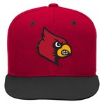adidas™ Boys' University of Louisville Flat Brim Snapback Cap