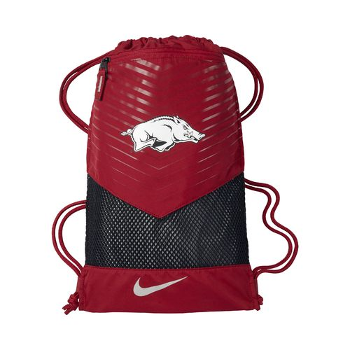 Nike University of Arkansas Vapor 2.0 Gym Sack