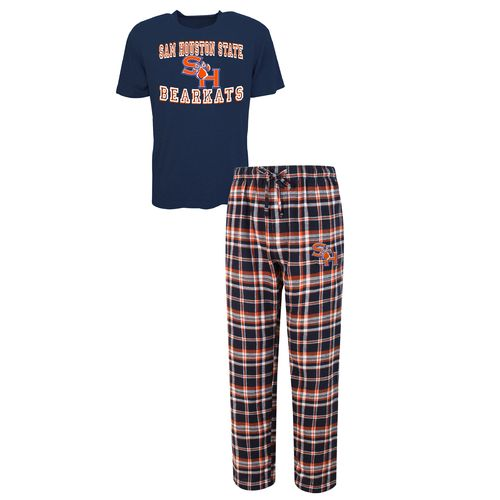 Concepts Sport™ Men's Sam Houston State University Tiebreaker Shirt and Pant Set