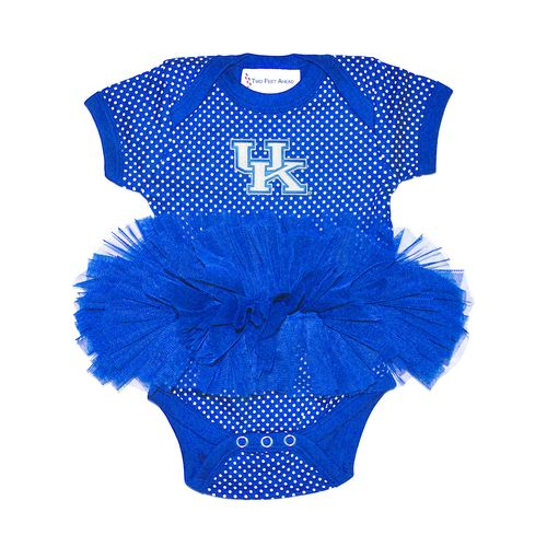 Two Feet Ahead Infants' University of Kentucky Pin Dot Tutu Creeper