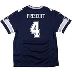 Dallas Cowboys Boys' Dak Prescott #4 Game Jersey