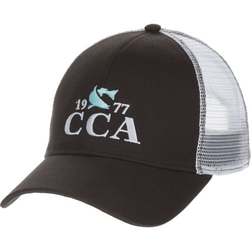 CCA Men's 77 Fish Logo Trucker Cap