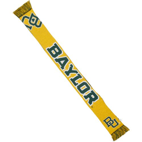 Team Beans Men's Baylor University Reversible Split Logo Scarf