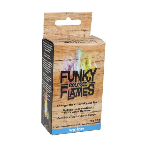 Display product reviews for Funky Colored Flames Color-Changing Flame Crystals 3-Pack