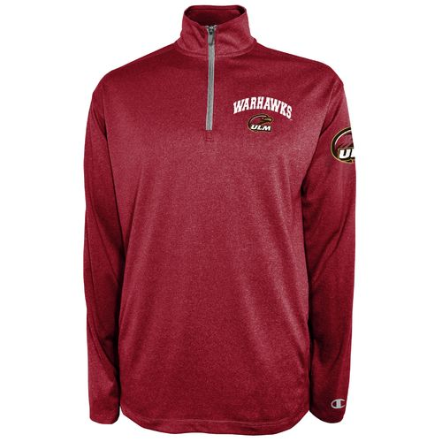 Champion™ Men's University of Louisiana at Monroe Victory 1/4 Zip Pullover