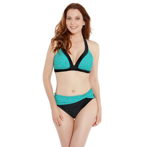 Sweet Escape Women's Oasis Tile Molded Bra Swim Top