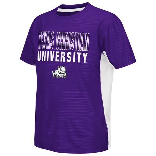 Colosseum Athletics™ Youth Texas Christian University In the Vault Cut and Sew T-shirt
